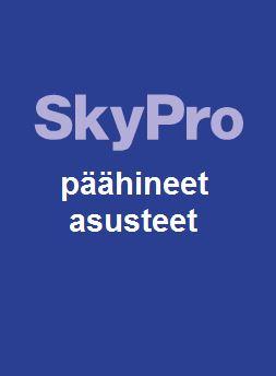 Sky Pro päähineet ja asusteet