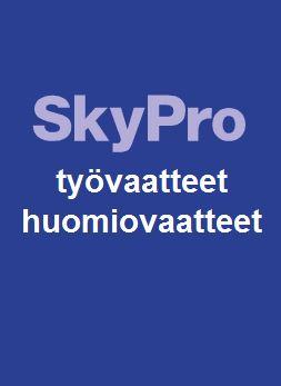 Sky Pro työ- ja huomiovaatteet