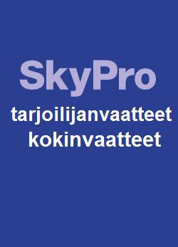 Sky Pro tarjoilu- ja kokinvaatteet